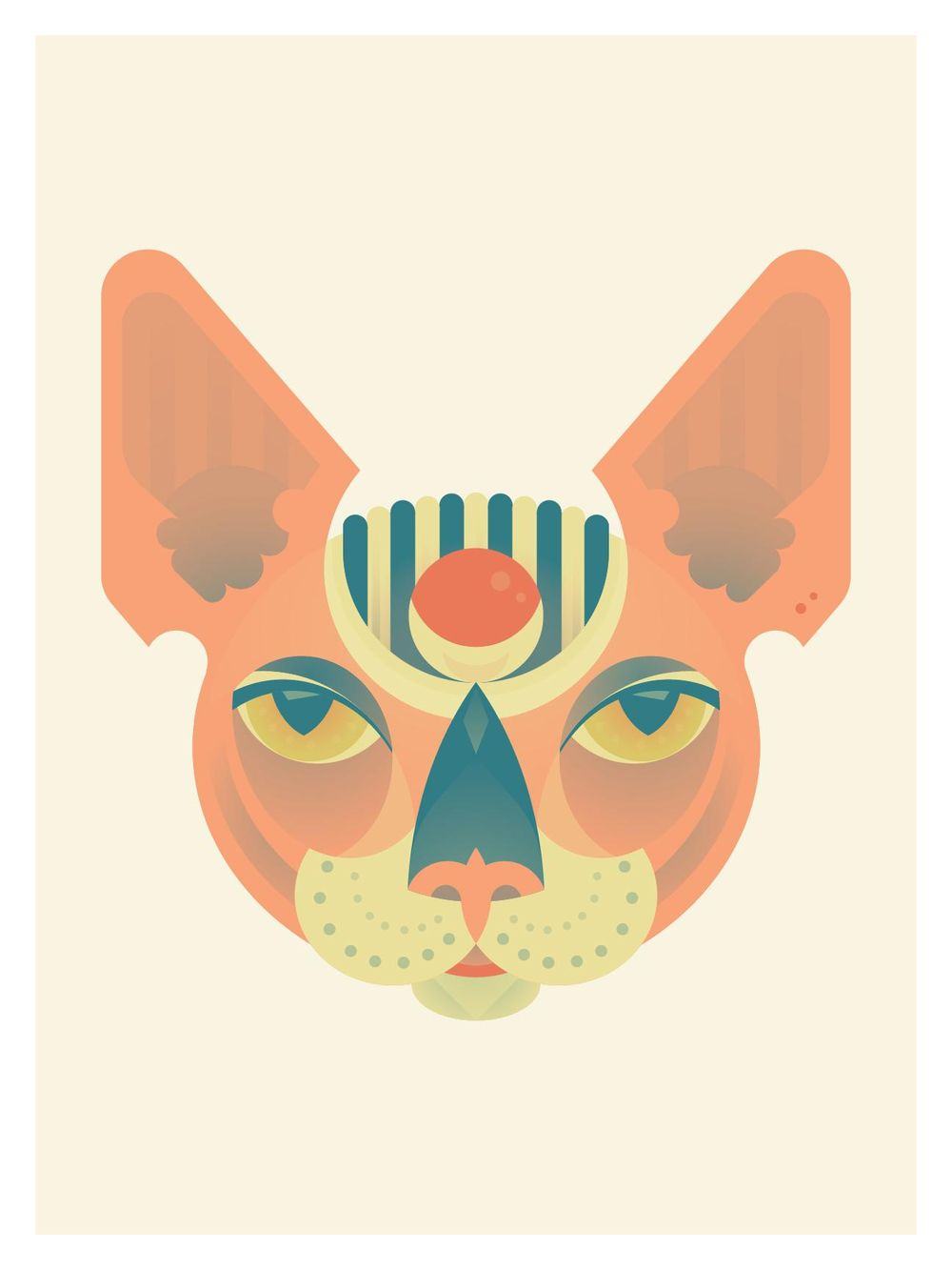 Sphynx head - image 6 - student project