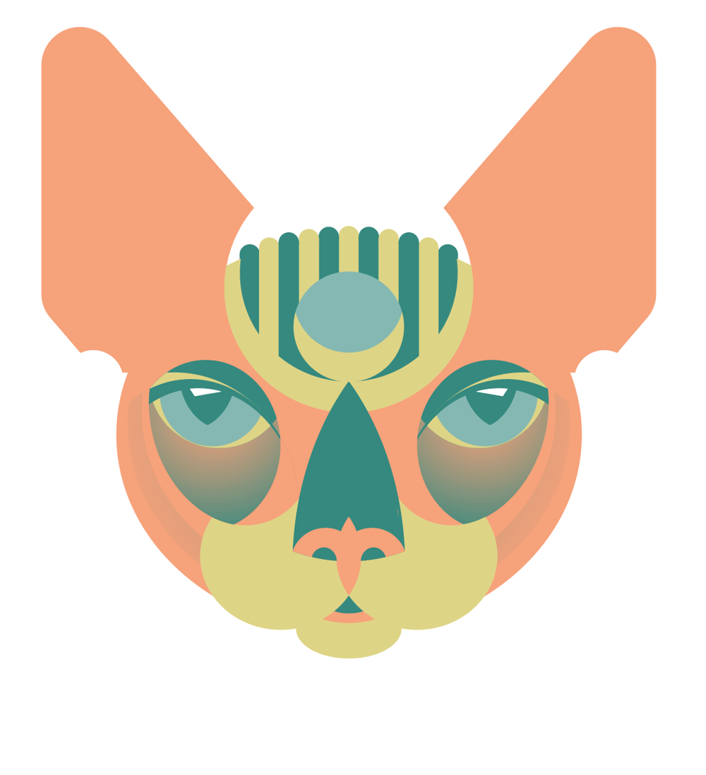 Sphynx head - image 4 - student project