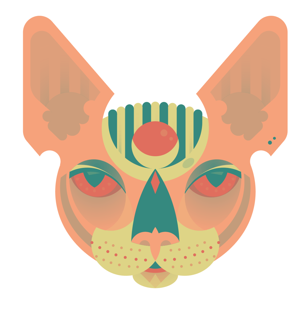 Sphynx head - image 5 - student project
