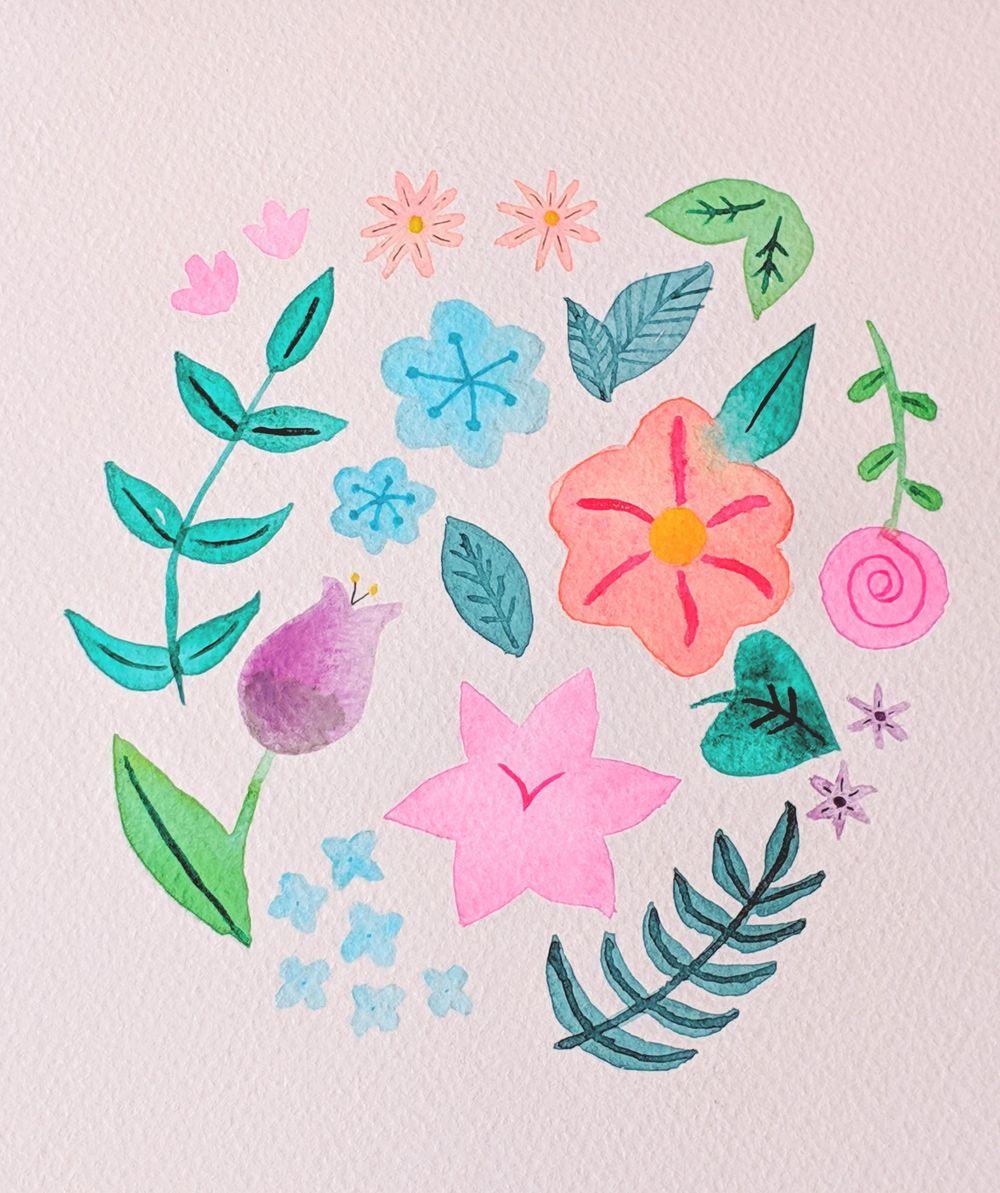 4/6/2019 - Floral Illustration - image 2 - student project