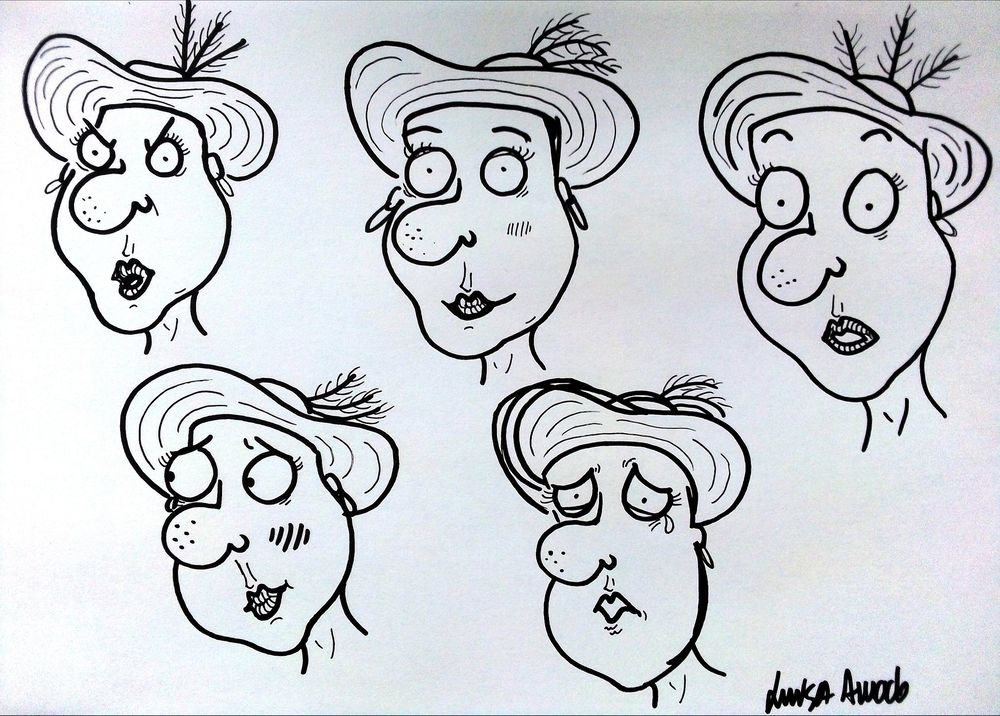 Facial Expressions - image 1 - student project