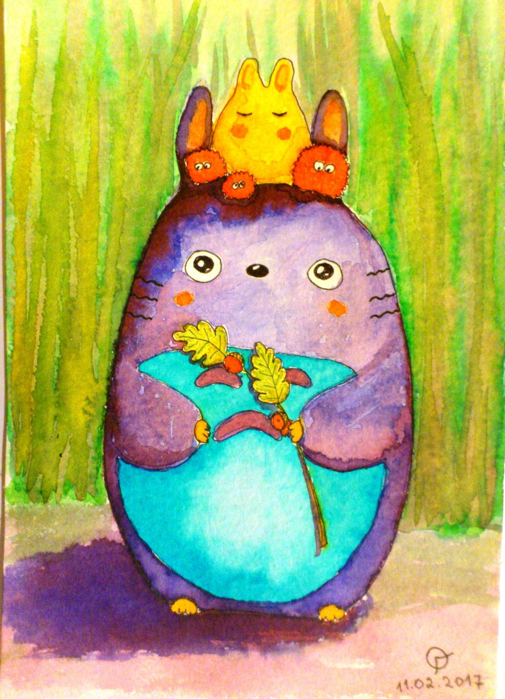 Totoro - image 1 - student project