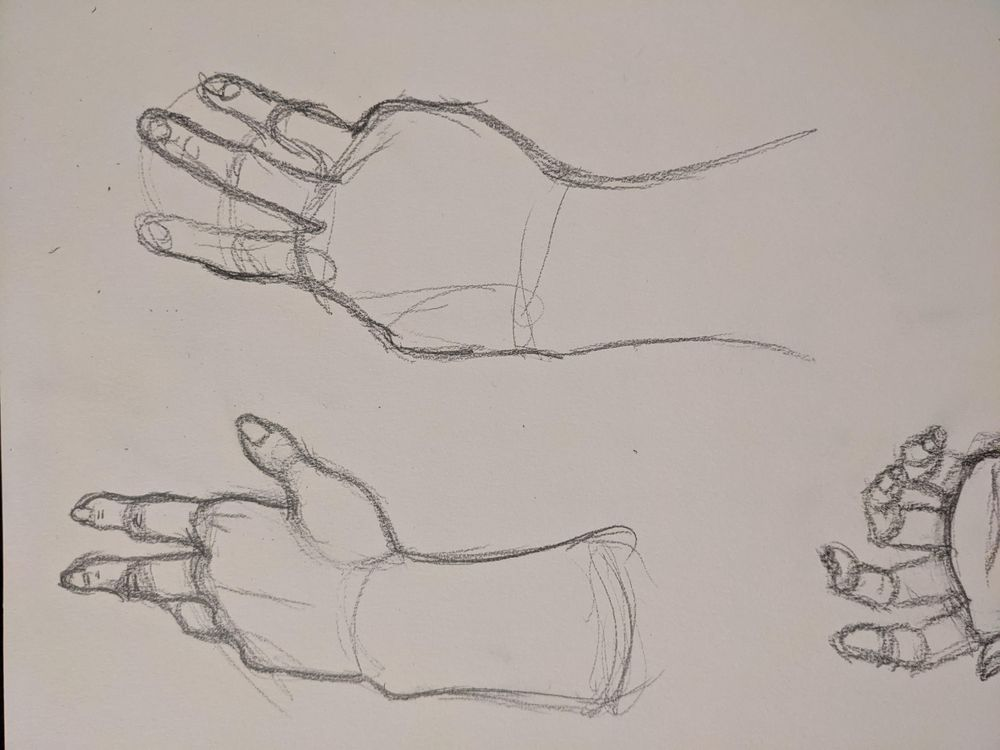 Mastering hands pt 1 - image 1 - student project
