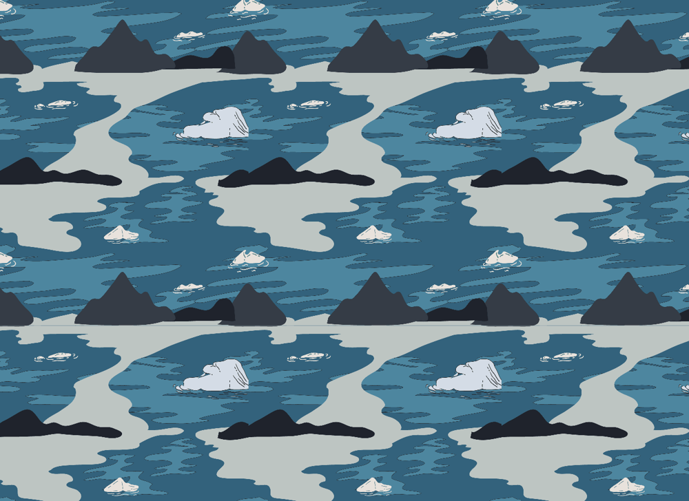 Arctic Winter - 5 Complex Pattern Techniques - image 21 - student project