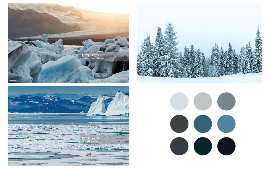 Arctic Winter - 5 Complex Pattern Techniques - image 4 - student project