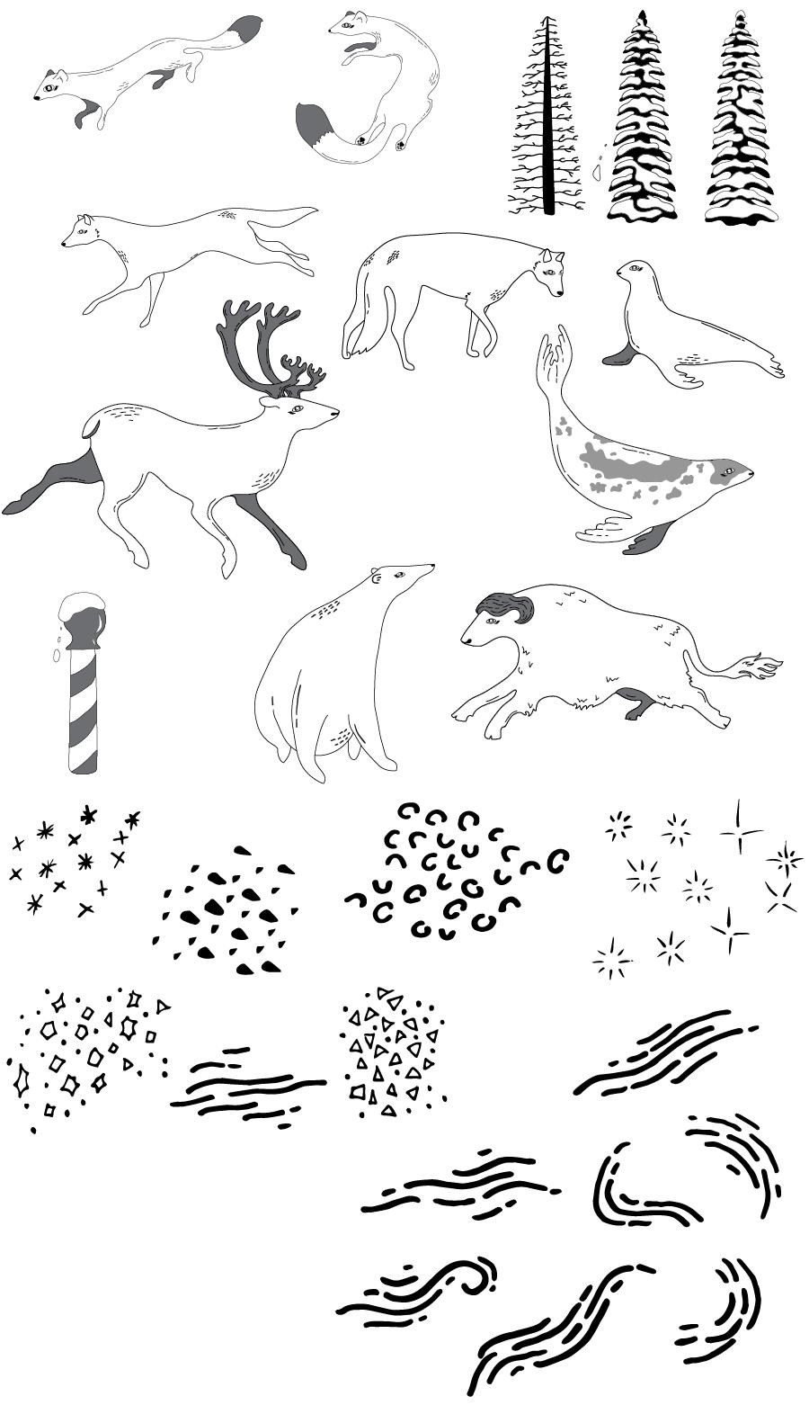 Arctic Winter - 5 Complex Pattern Techniques - image 3 - student project