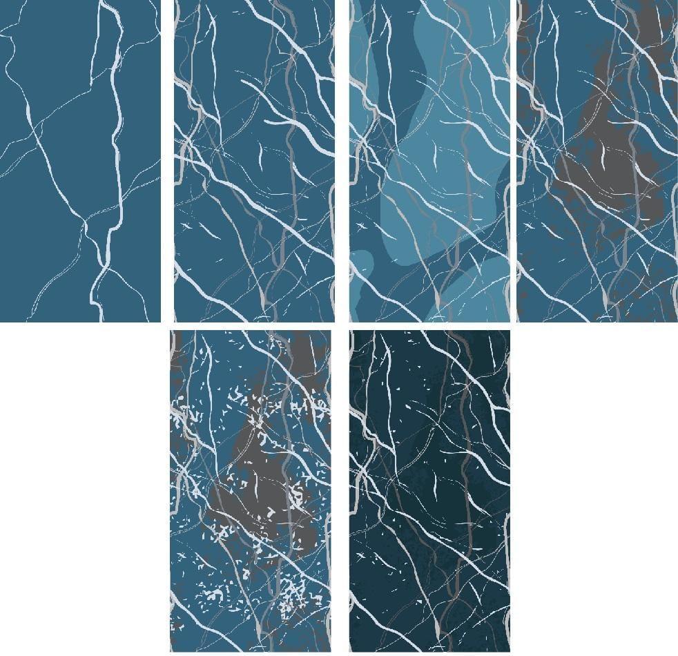 Arctic Winter - 5 Complex Pattern Techniques - image 18 - student project