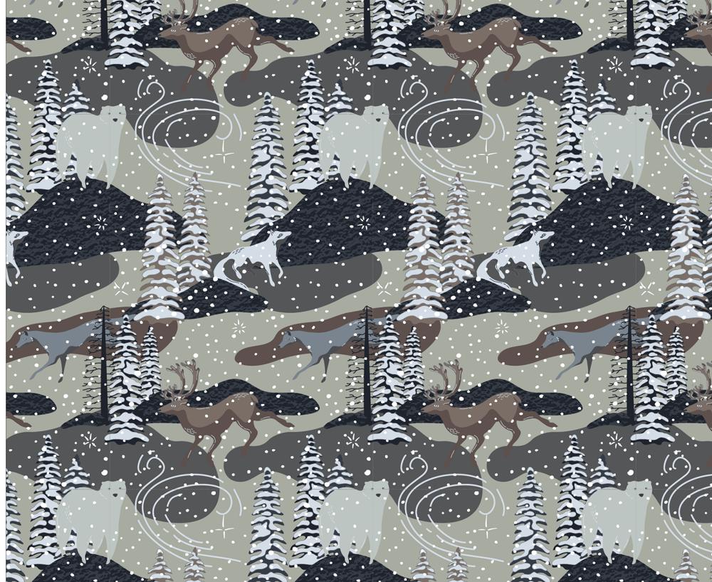 Arctic Winter - 5 Complex Pattern Techniques - image 24 - student project