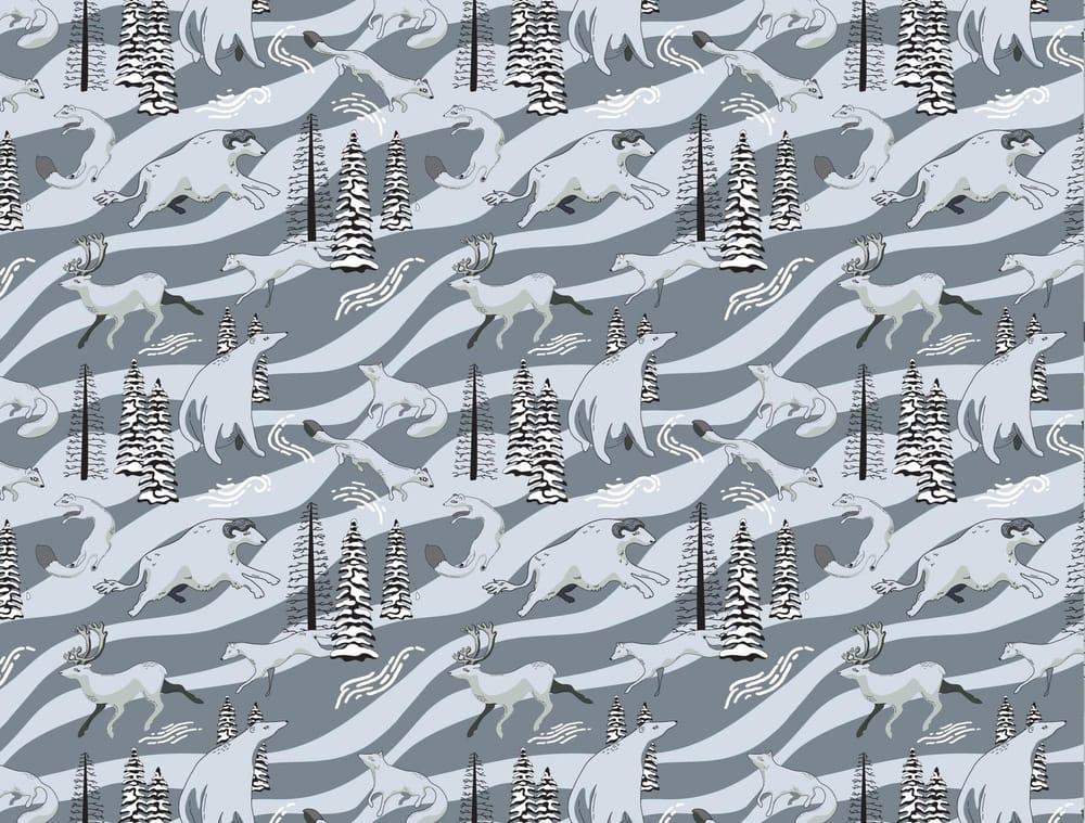 Arctic Winter - 5 Complex Pattern Techniques - image 7 - student project