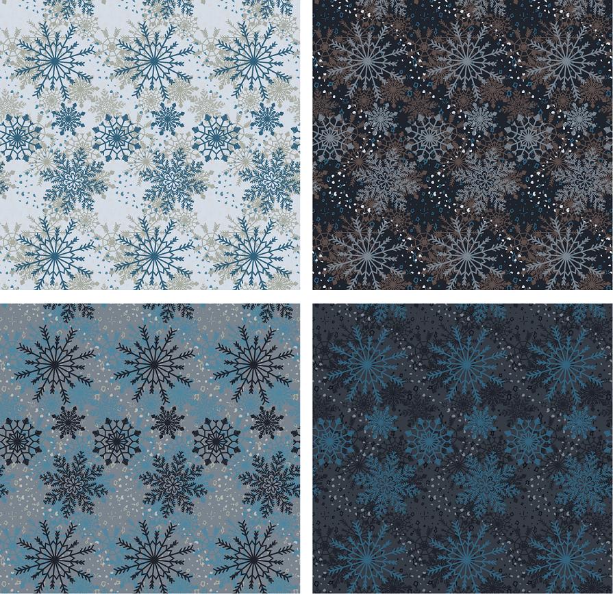 Arctic Winter - 5 Complex Pattern Techniques - image 15 - student project