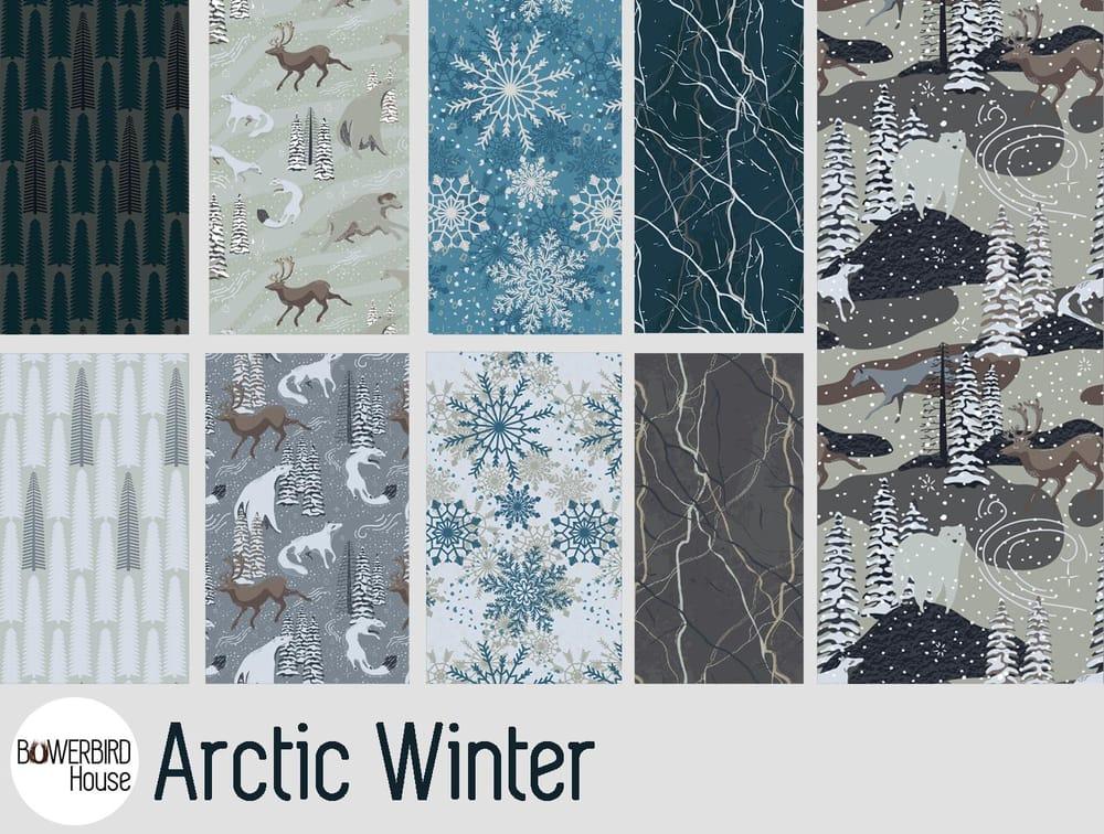 Arctic Winter - 5 Complex Pattern Techniques - image 25 - student project