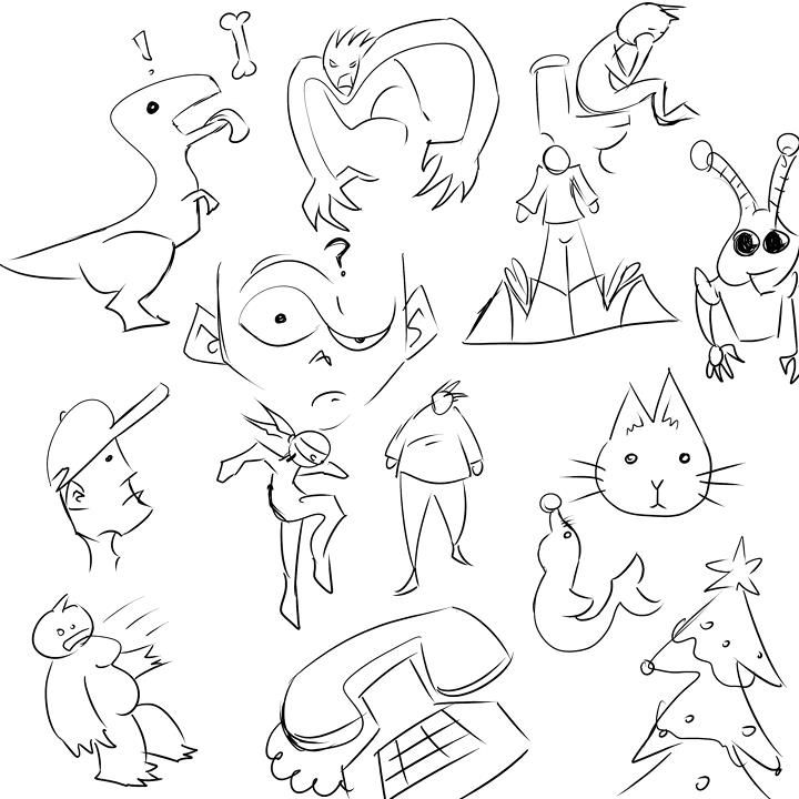 Doodle page - image 1 - student project