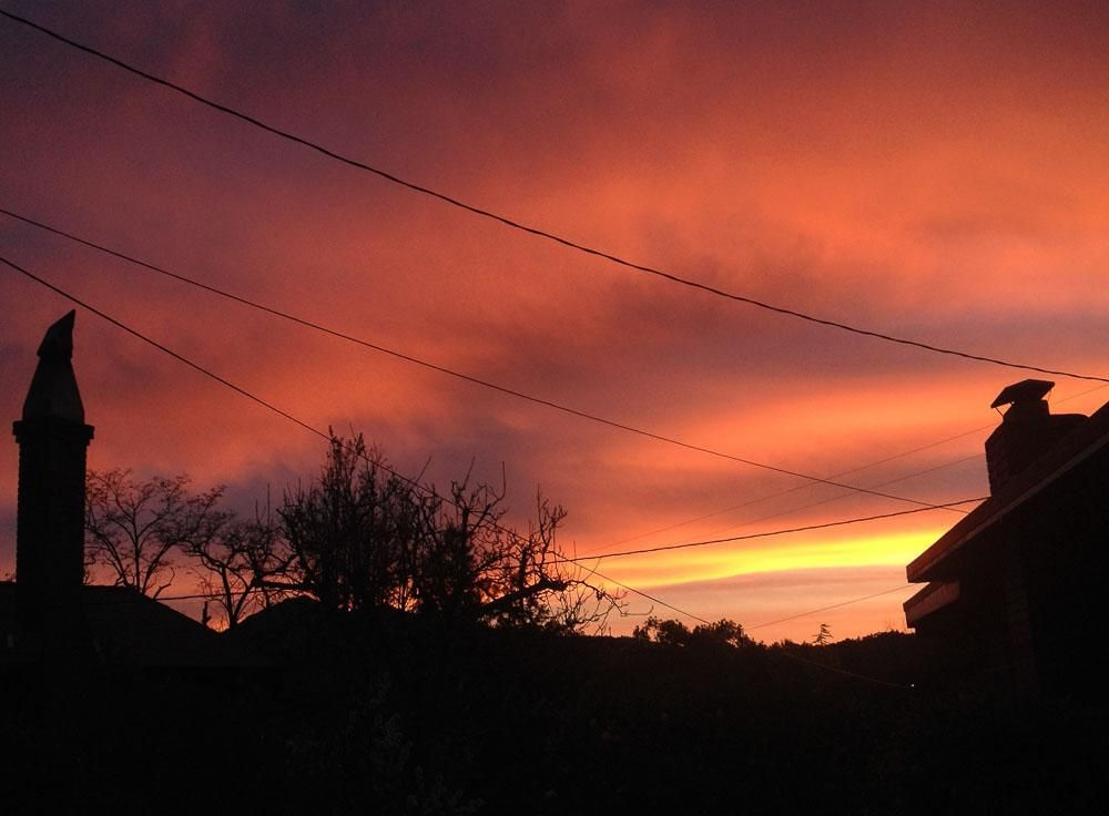 California Sunrise ...from my deck--daytime is interesting too--and sunset - image 1 - student project