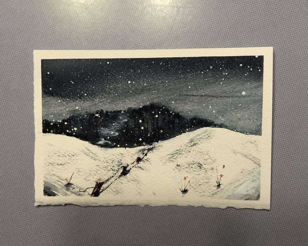 Snowy Night - image 2 - student project