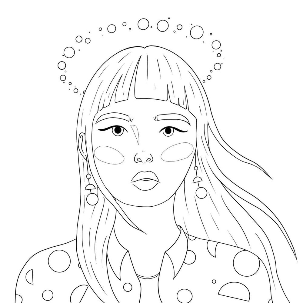 Planet girl - image 2 - student project