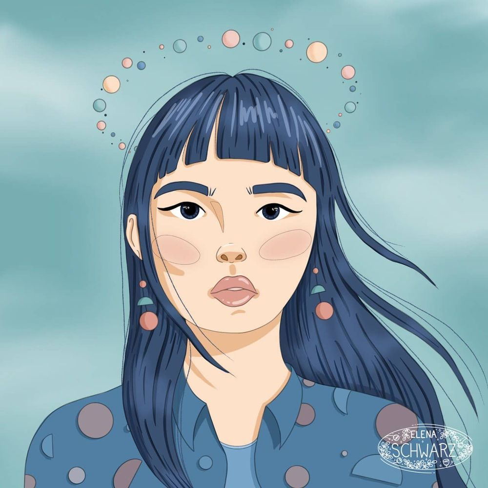 Planet girl - image 1 - student project