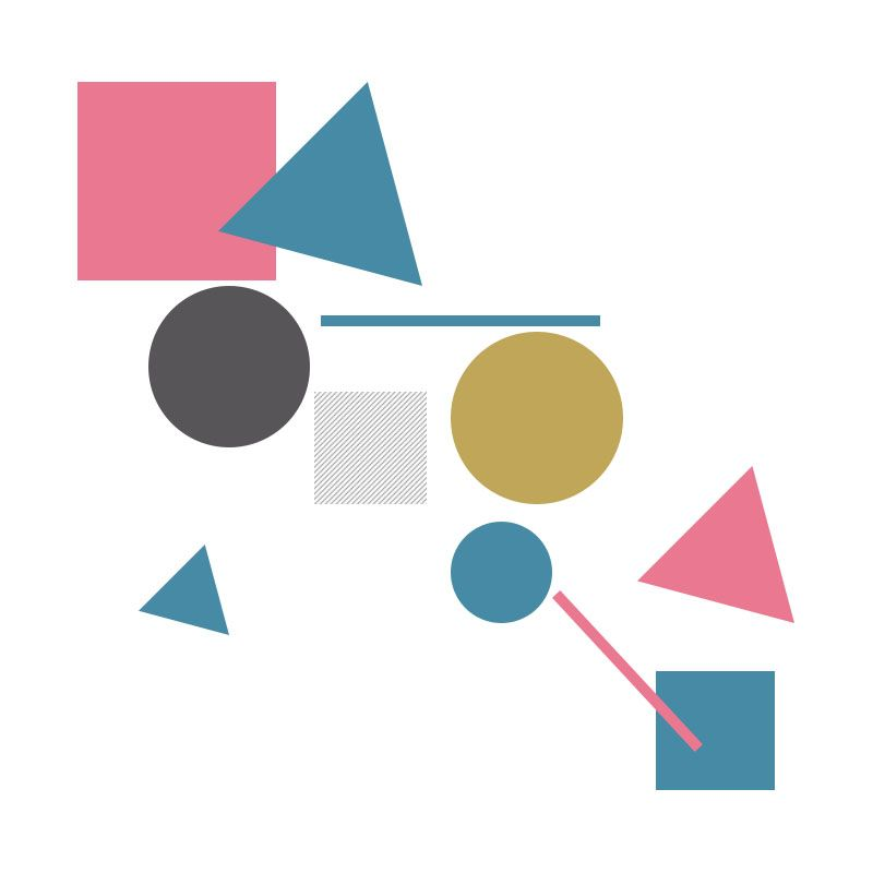 Alinas geometric collage - image 1 - student project