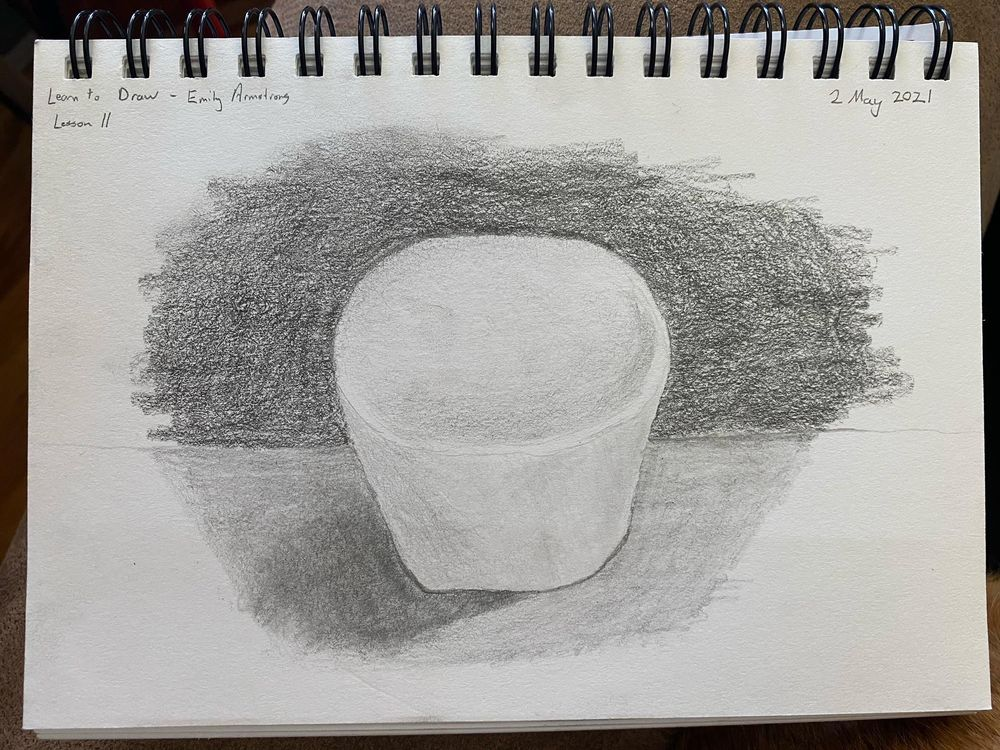 Learn to Draw: Complete Course - Exercises - image 1 - student project