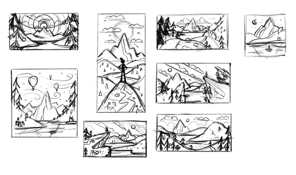 Mountain Adventure - image 2 - student project