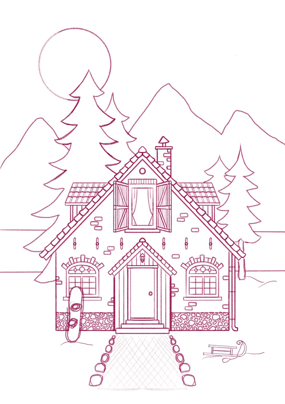 My Dream House - image 1 - student project