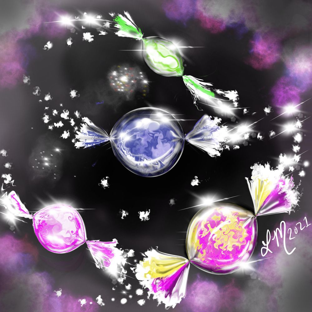 Galactic Hard Candy - image 1 - student project
