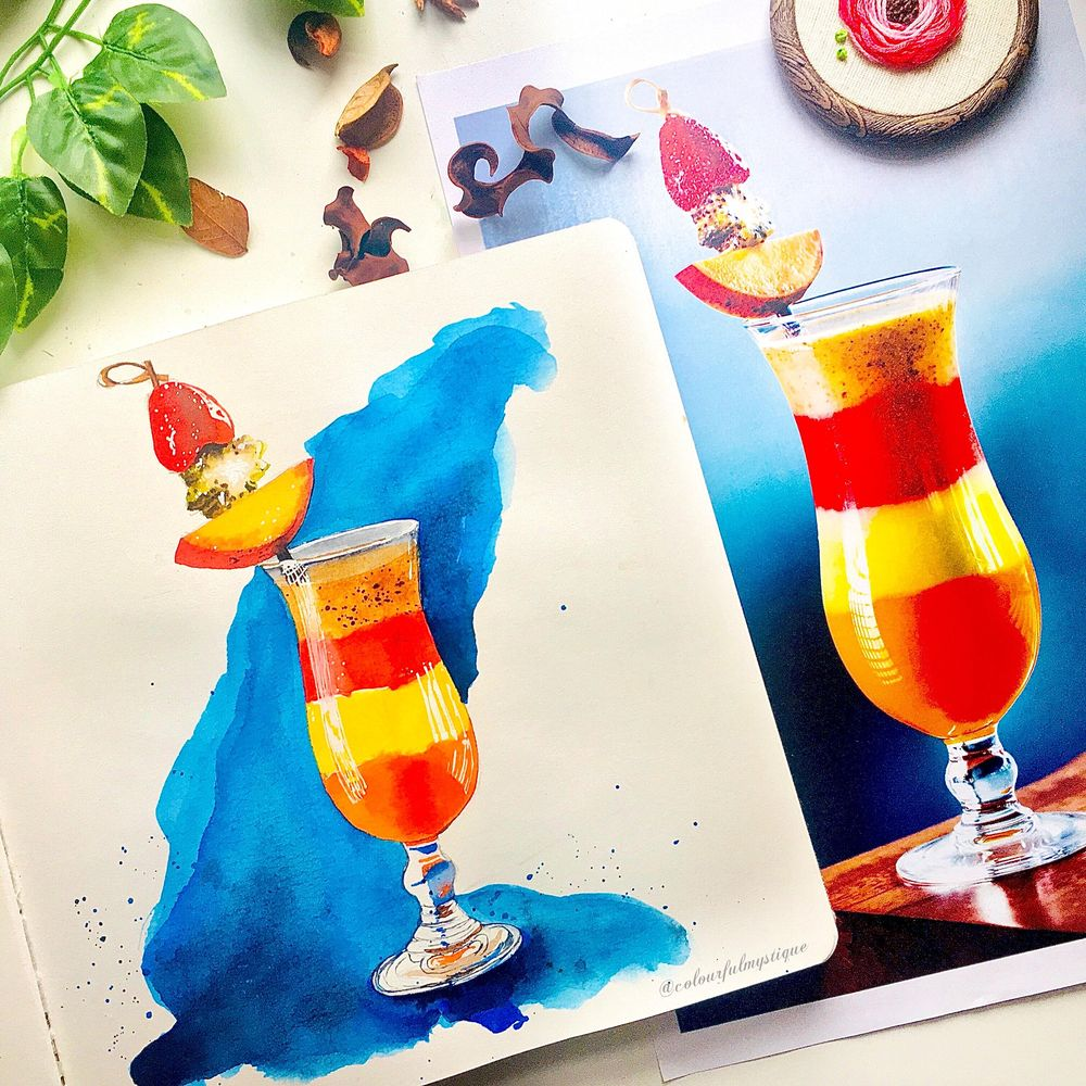 Food Illustration From Picture - image 3 - student project