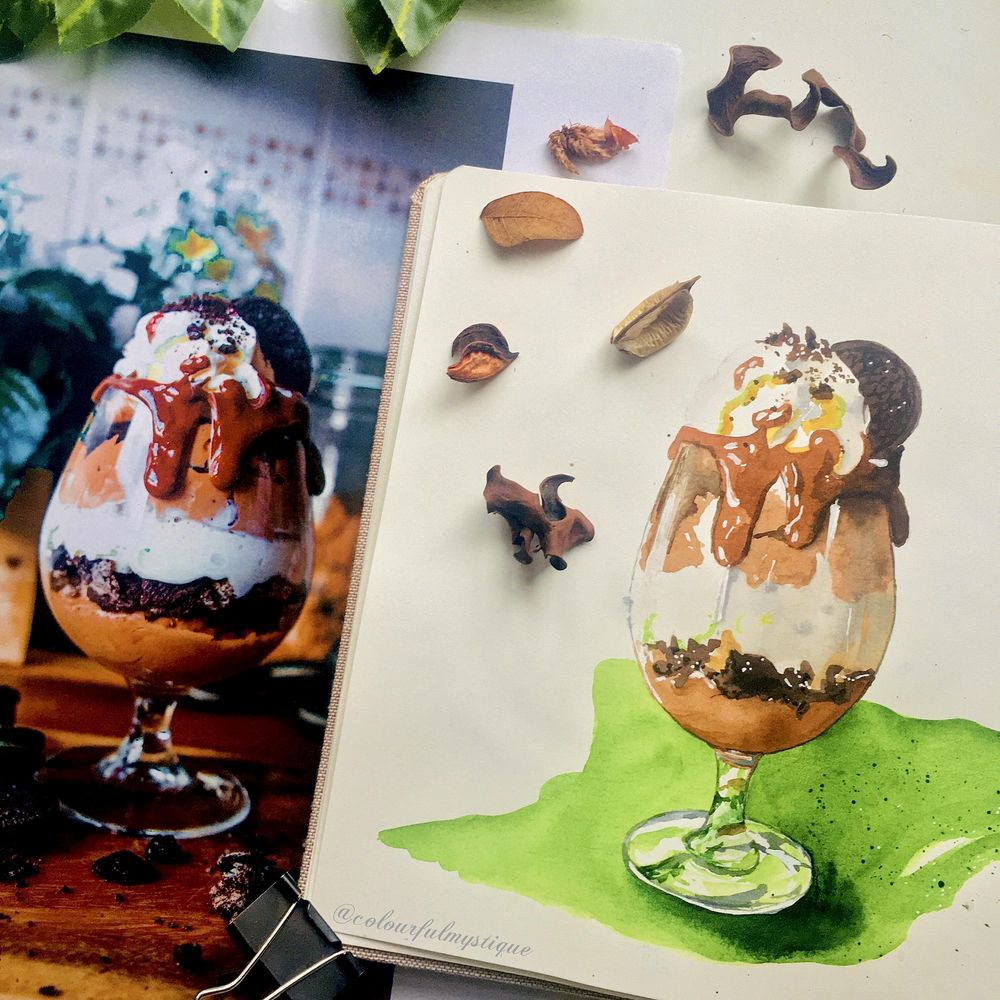 Food Illustration From Picture - image 1 - student project