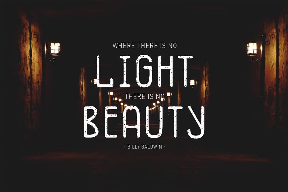 No Light, No Beauty - image 1 - student project