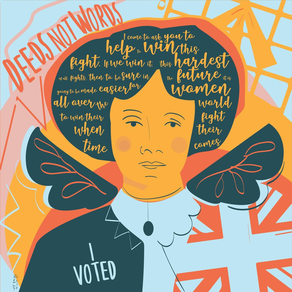 Emmeline, I promise to vote. - image 1 - student project