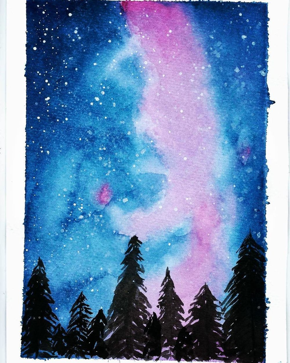 galaxy sky - image 1 - student project