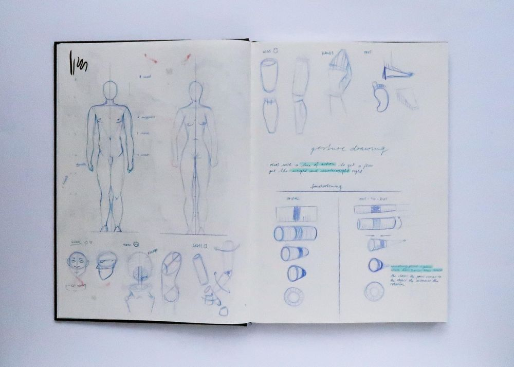2021 - I'm improving my figure drawing skills... - image 1 - student project