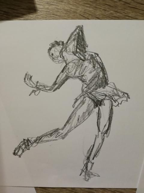 Drawing passionate gestures with artist Jennifer Moorhead - image 2 - student project