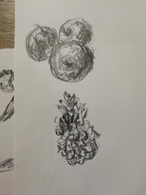 Drawing passionate gestures with artist Jennifer Moorhead - image 1 - student project