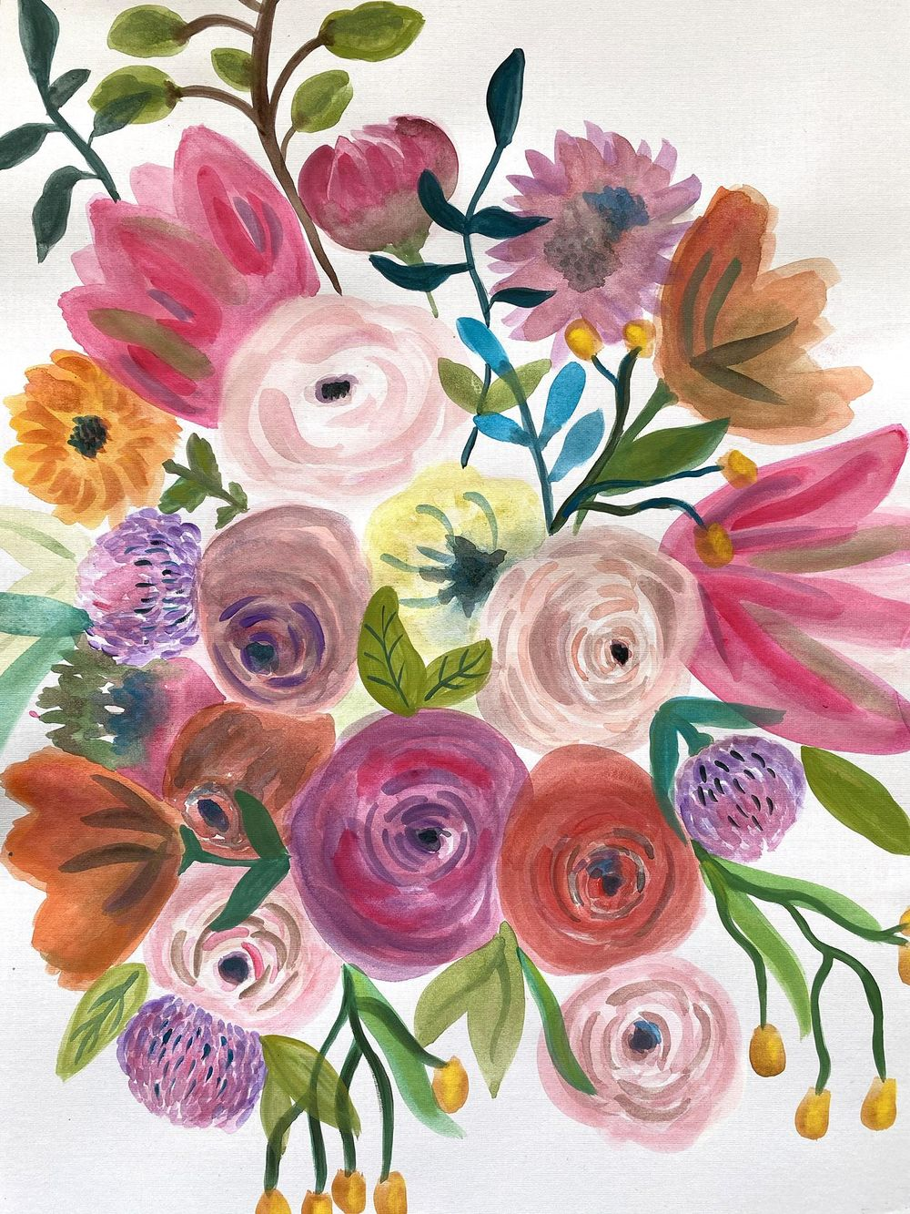 Floral happiness - image 1 - student project