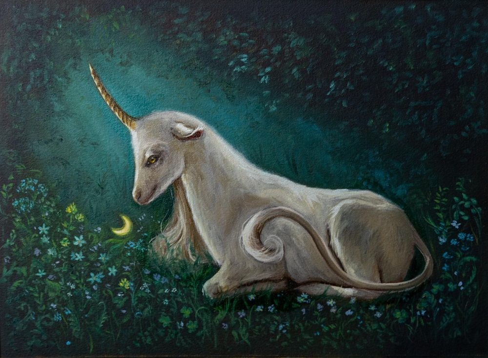 The Unicorn Of The Enchanted Forest - image 5 - student project