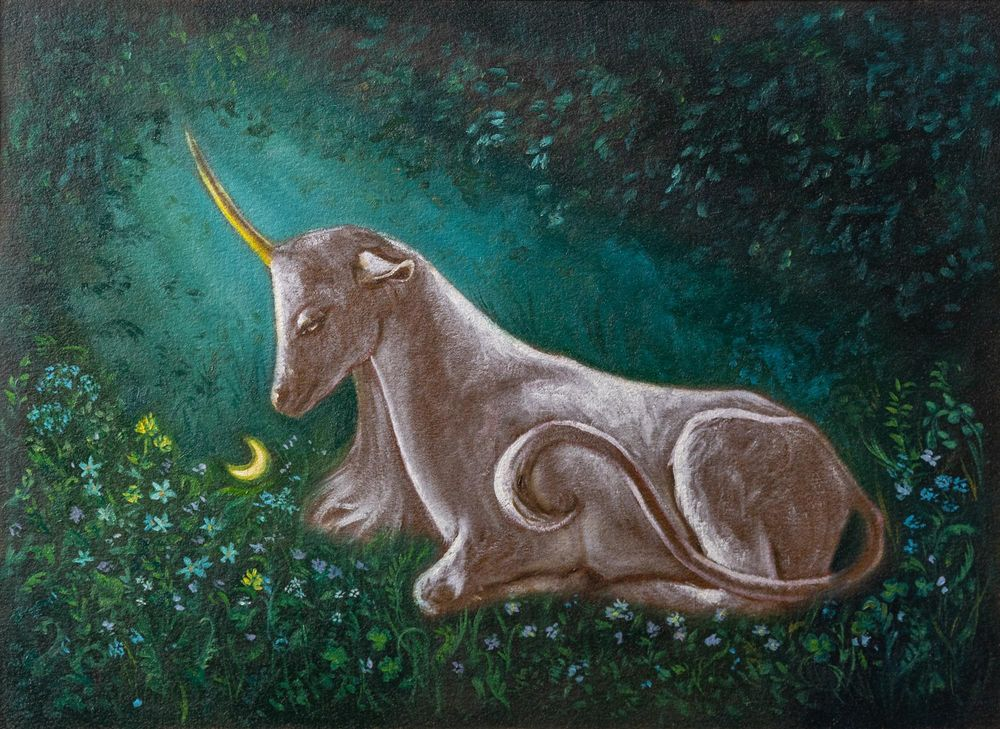 The Unicorn Of The Enchanted Forest - image 4 - student project