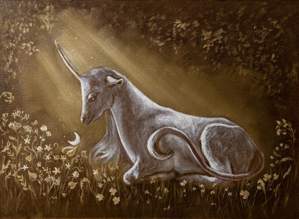 The Unicorn Of The Enchanted Forest - image 3 - student project