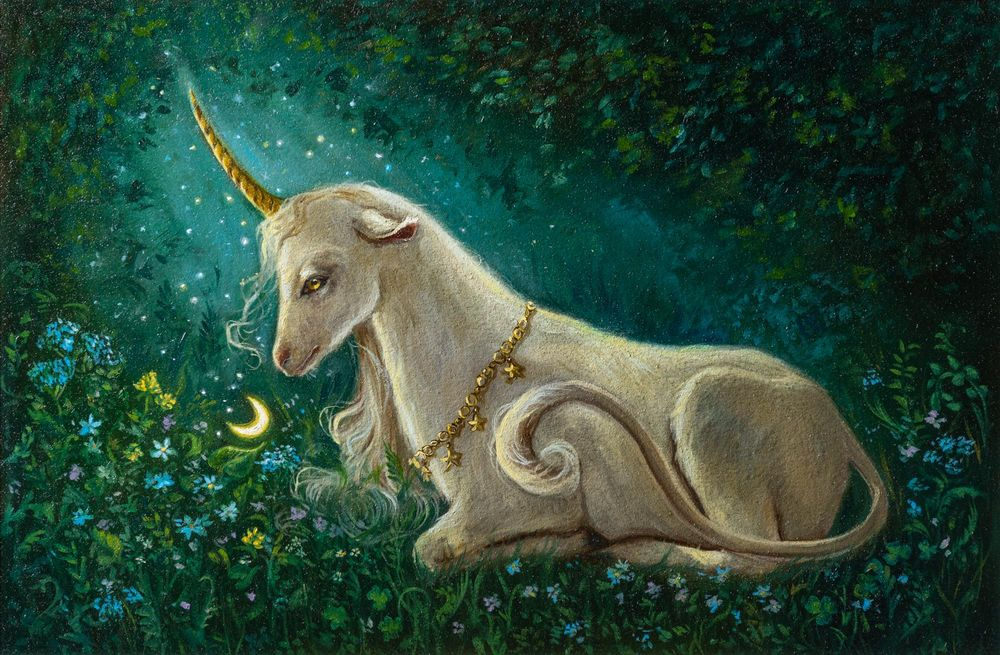 The Unicorn Of The Enchanted Forest - image 6 - student project