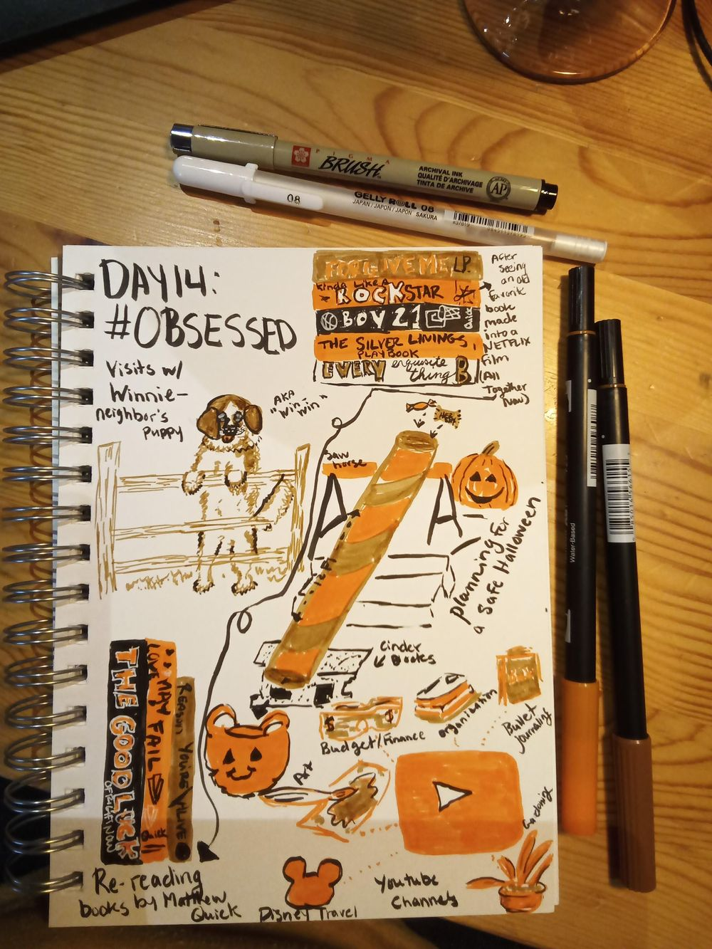 Daily Illustrated Journaling - image 14 - student project