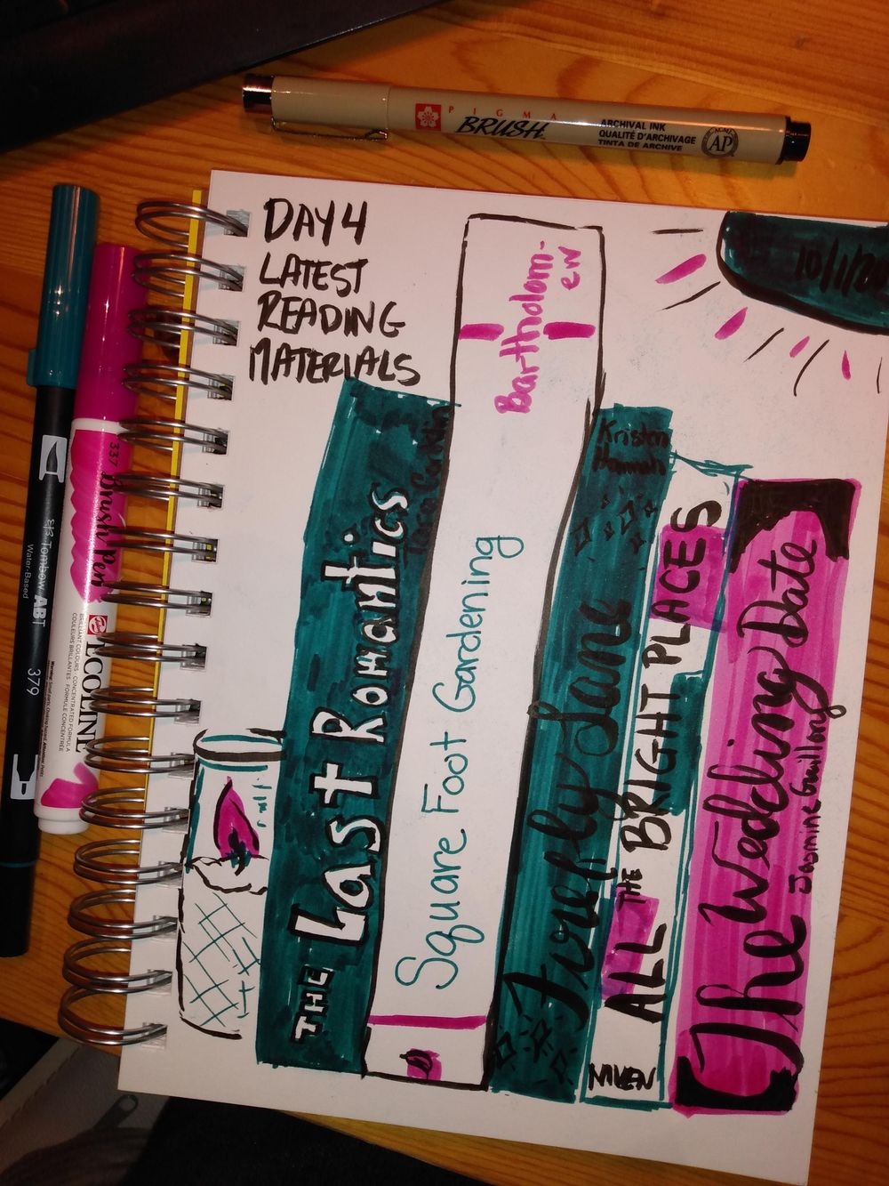 Daily Illustrated Journaling - image 4 - student project