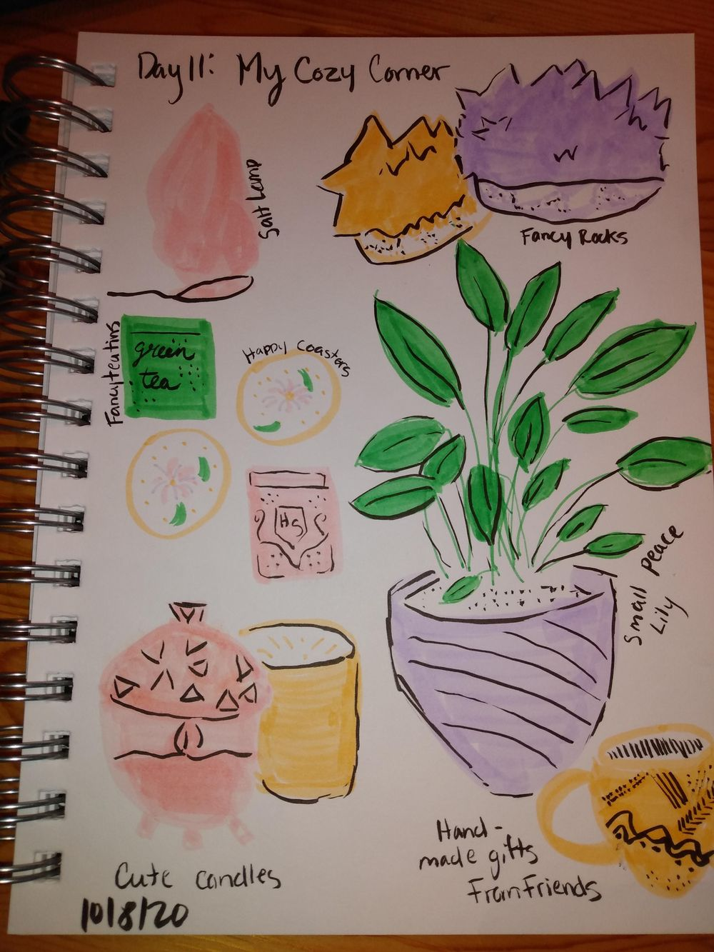 Daily Illustrated Journaling - image 11 - student project