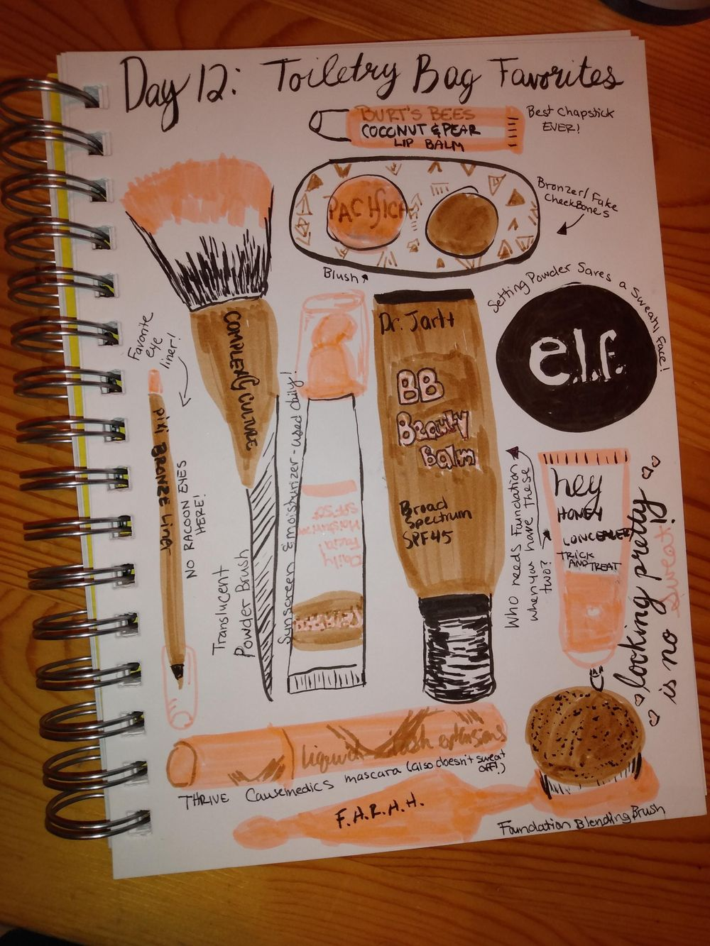 Daily Illustrated Journaling - image 12 - student project