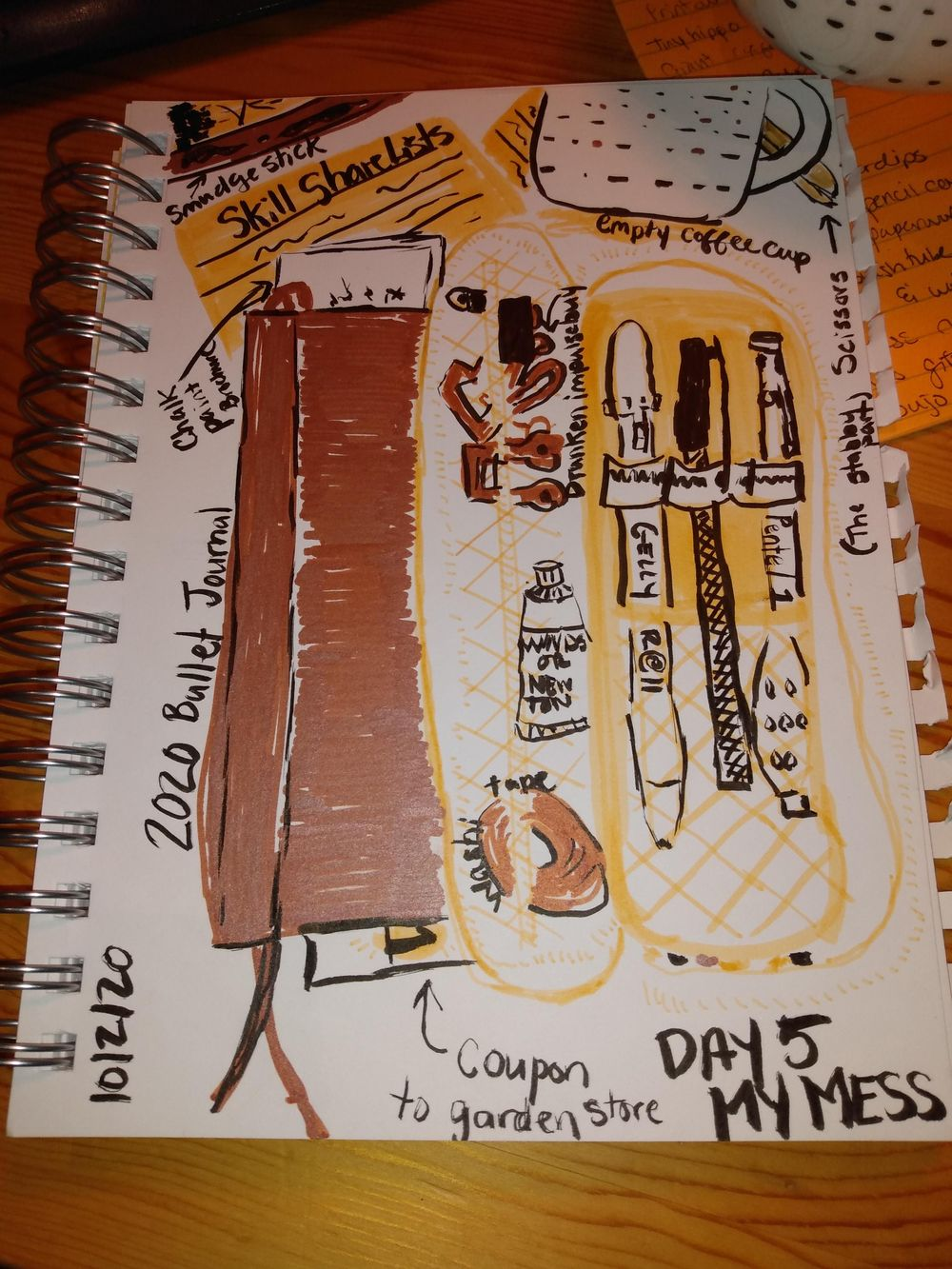 Daily Illustrated Journaling - image 5 - student project