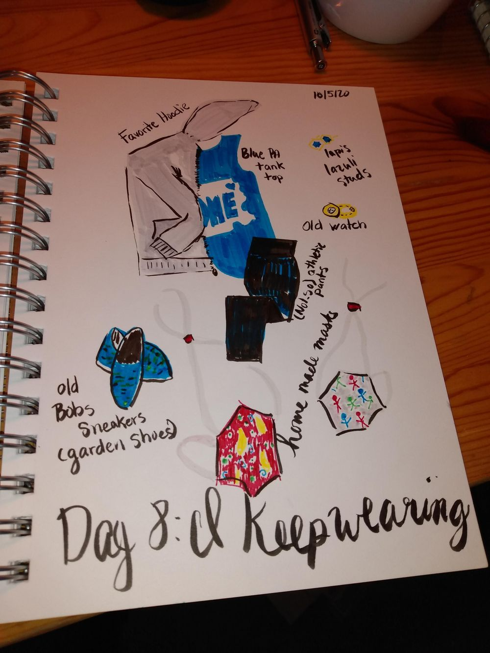Daily Illustrated Journaling - image 8 - student project