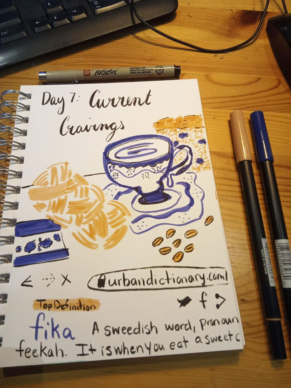 Daily Illustrated Journaling - image 7 - student project