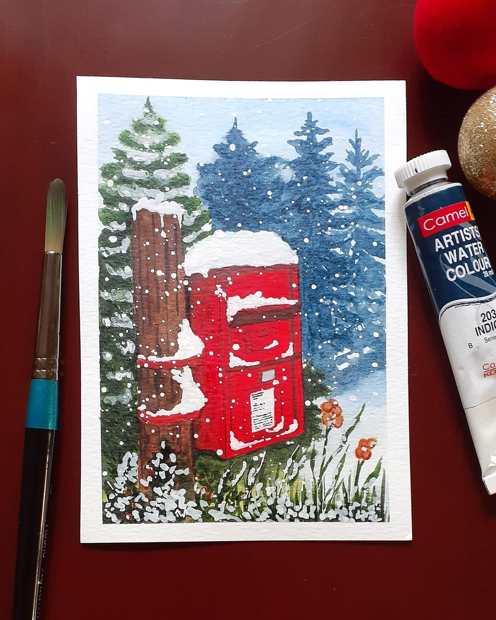 Countdown to Christmas with 24 Beautiful Paintings - image 5 - student project