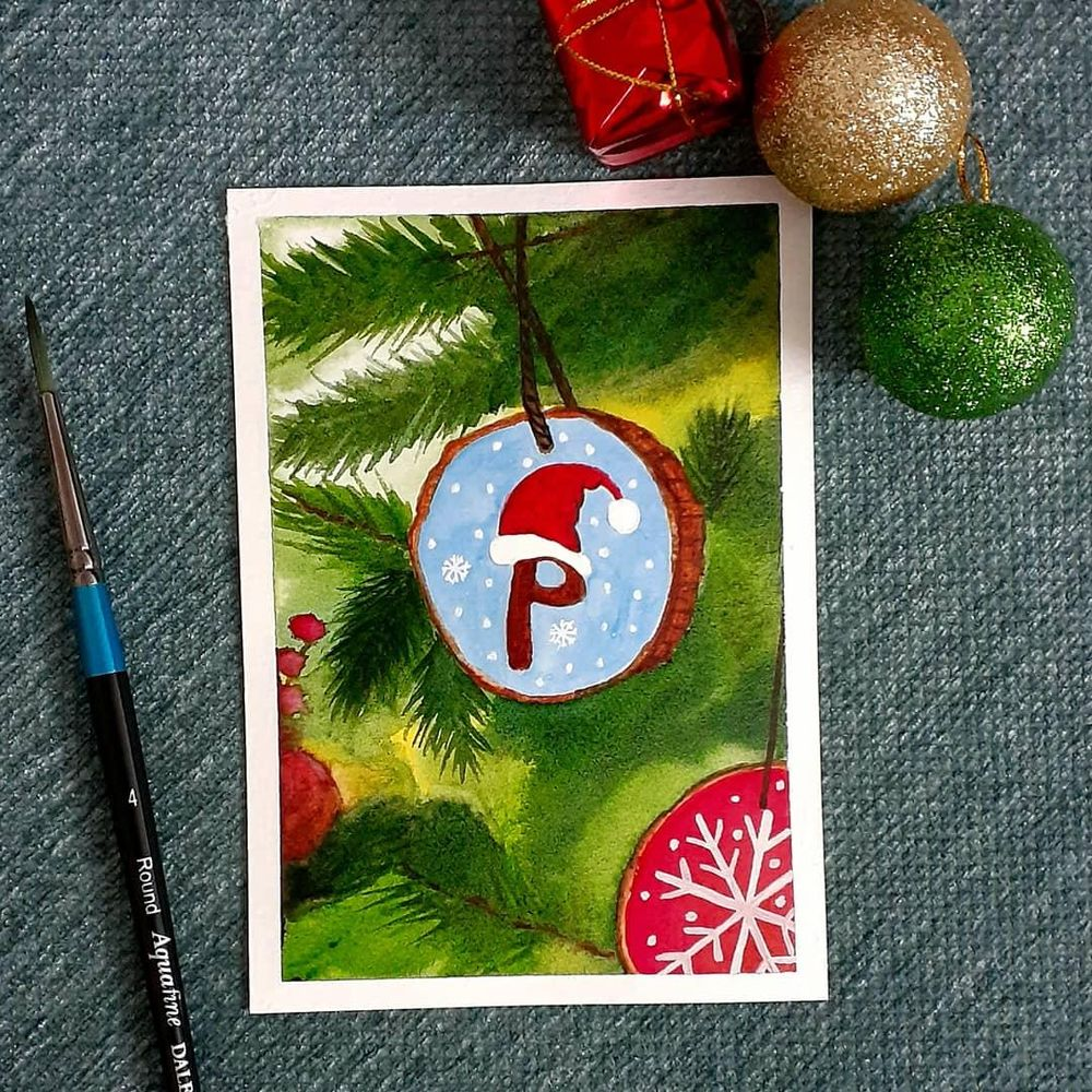 Countdown to Christmas with 24 Beautiful Paintings - image 9 - student project
