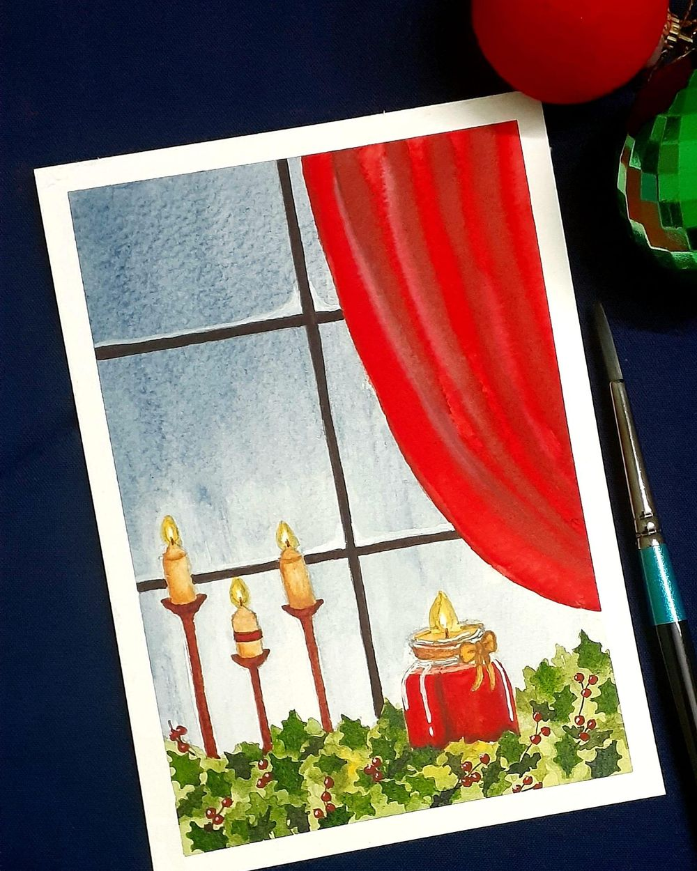Countdown to Christmas with 24 Beautiful Paintings - image 1 - student project