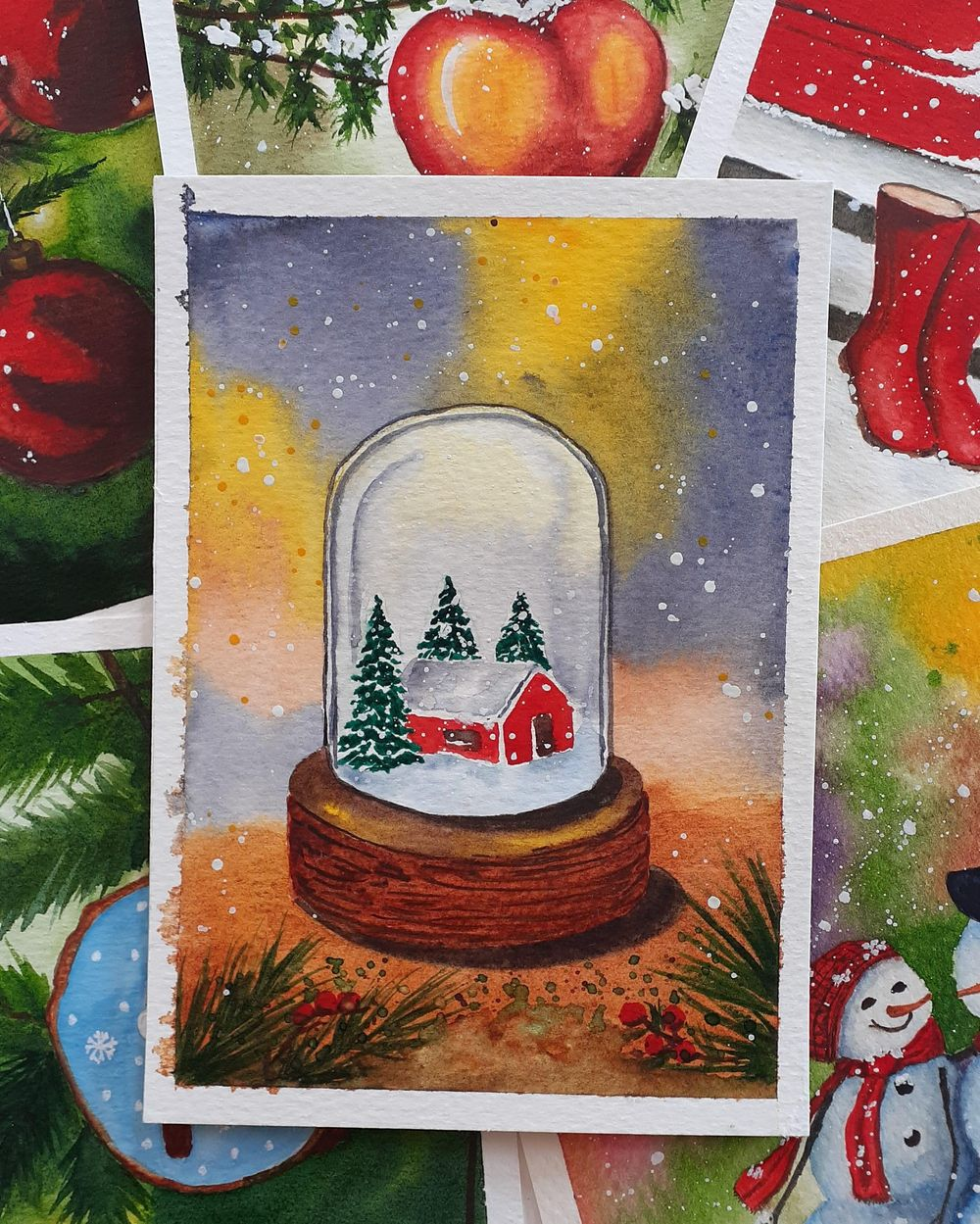 Countdown to Christmas with 24 Beautiful Paintings - image 13 - student project