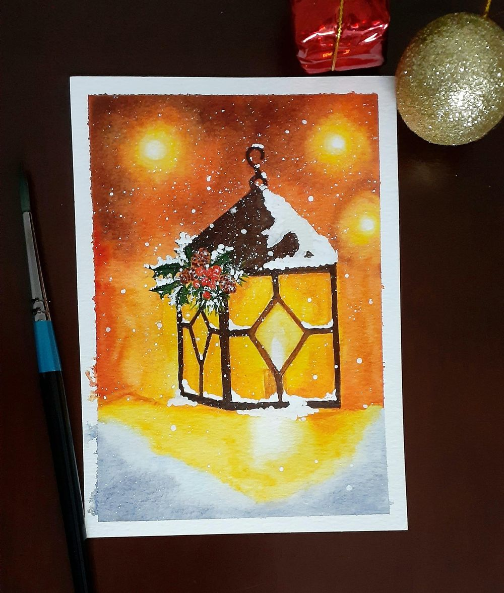 Countdown to Christmas with 24 Beautiful Paintings - image 14 - student project